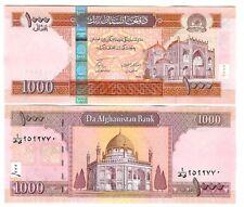 AFGHANISTAN 1000 1.000 AFG 2010 SH1389 UNC P 77 b