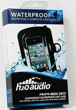 H2OAudio Amphibx GO Waterproof Sweatproof H2O Case for all iphones 3G 3Gs 4 4s 5