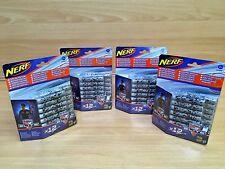 X4 Nerf N-Strike Elite speciali/Limited Edition Freccette 12 Pack Blu Grigio