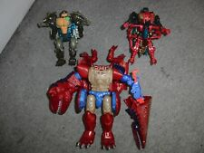 Transformers Beast Wars Megatron Waspinator Rhinox Hasbro Used