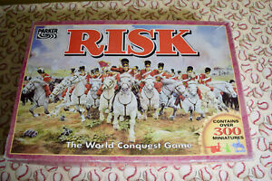 Risk The World Conquest Board Game Replacement Parts Pieces 1996 Parker Bros