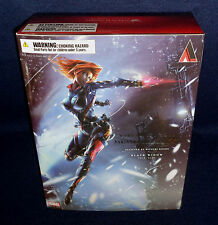 "Marvel Comics Variant BLACK WIDOW Play Arts Kai 10"" Action Figure Square Enix"