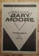 Gary Moore Victims of  future 1984 press advert Full page 30 x 42 cm mini poster