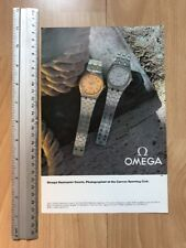 Omega Seamaster Quartz 1980 Advertisement Pub Ad Werbung