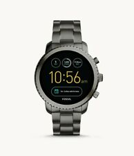 Fossil Q Gen 3 Smart Watch - Explorist Smoke Stainless Steel Grade A Smartwatch