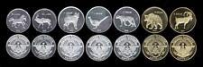 NAGORNO KARABAKH 2013 set of 7 coins Upper Karabach Gorny