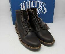 """Whites Boots. MP365D, Dark brown wax, 9.5 D, 6"""", Dainite sole."""