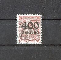 DR Deutsches Reich 94 gestempelt geprüft Infla Dienstmarken Dienst used
