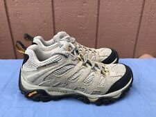 Merrell Moab Ventilator Women US 7.5 Taupe Continuum Vibram Walking Hiking A4