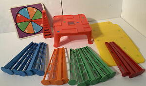 Vintage Ideal Careful Toppling Tower Game Or Replacement Pieces - No Box