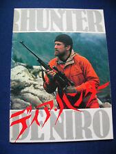 99.1979 THE DEER HUNTER Japan Vintage PROGRAM Robert De Niro Christopher Walken