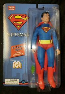 """SUPERMAN - Classic 8"""" MEGO Action Figure"""
