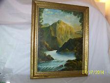 Leo Goode Artist Original Oil On Canvas Landscape Painting