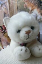 """LOVELY  Keel  White  Persian """"   Misty """" 40 cm   , Immaculate .With Tags"""