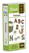 Cricut Fontopia Cartridge  in its original packaging