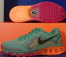 Womens Nike Air Max 2014 Jade Black Magenta Atomic Green SZ 8 ( 621078-305 )