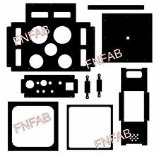 DIY thermal plastic forming vacuum machine plans and dxf CNC cutting files on CD