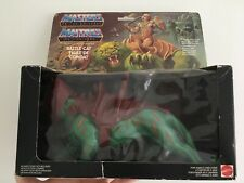 Vintage He-man masters of the universe MOTU Battle Cat Tigre De Combat MISB