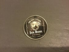 You Dont Know JACK DANIELS LAPEL PIN BADGE Silver Plated Metal Whisky Whiskey