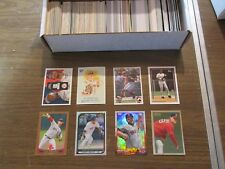 BOSTON RED SOX LARGE 400 CARD LOT, INSERTS, ROOKIES & PARALLEL CARDS ONLY