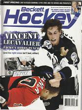 February 2008 Beckett Hockey Price Guide Vincent Lecavalier Tampa Bay Lightning