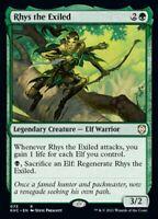 MTG Kaldheim Commander NON-FOIL R Rhys the Exiled #073