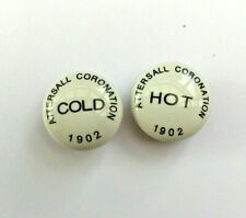 Tap Indices Tops Caps Hot Cold 22.7 mm 1902 Attersall Coronation          L18
