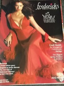"""Frederick's of Hollywood Spring Preview 2001 """" 55 Years """" edition SEXY issue"""