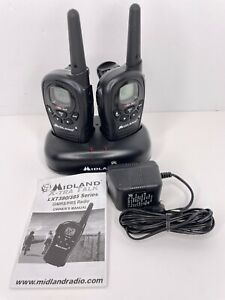 Midland X-Tra Talk, Model LXT380 GMRS/FRS Radio Walkie Talkies with Charger