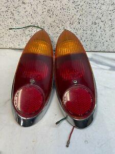 MORRIS OXFORD 1961 ON REAR  LIGHT LENS JSP266 RED