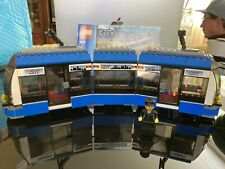 Lego City 8404 Blue Train w minifig and manual -  From Public Transport Station