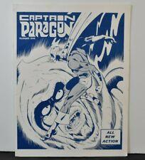 Captain Paragon  Number One  William Black Fanzine Paragon Publications 1972