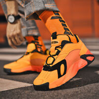 Mens High Top Sneakers Casual Sports Athletic Running Shoes Basketball Dad Shoes