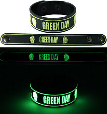 GREEN DAY  NEW! Bracelet Wristband gg92 Glow in the Dark Free Shipping