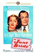 JUNE BRIDE (1948 Bette Davis, Robert Montgomery)  - Region Free DVD - Sealed