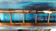 NOS Ford Control Panel TRIM Horizontal Mahogany Woodgrain E0VY-54044D70-F  1980