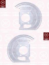 Spritzblech Bremsstaubblech Ankerblech Satz vorne Nissan Qashqai Bj. 06-13