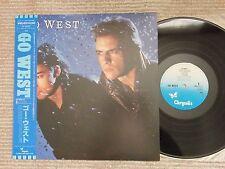 Go West  Go West WWS-91111 Japan LP  Obi Near Mint