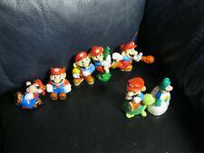 Lot of 7 Super Mario Bros Applause Figures