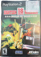 Eighteen 18 Wheeler: American Pro Trucker Ps2 PlayStation 2