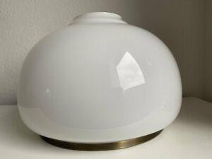 Lampenschirm Glas Glasschirm antik Jugendstil