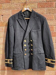 Merchant Navy Second Officer Dress Uniform Jacket British Military Naval