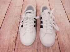 adidas Baseline White Black Stripe Classic Shoes - Womens US 5.5 - AW4409 - New