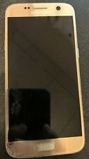 Samsung Galaxy S7 Sm-G930p 32gb Gold Boost Mobile Fast Shipping Parts Repair