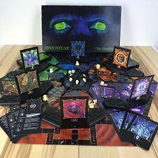 Atmosfear The Harbingers Vintage 1995 VHS Complete Board Game Mattel Bonus VHS