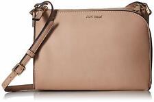 Nine West Darcelle Crossbody Handbag One Size Barely Nude Beige