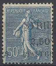FRANCE COLONIE SYRIE N°113 OBLITÉRÉ SURCHARGE A CHEVAL - COTE MAURY 37€