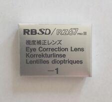 Mamiya RB/RZ -1 correction lens for Prism Finder corrección lente prismensucher