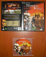 Warrior Kings [PC CD-ROM] Black Cactus, Planeta DeAgostini, Versión Española