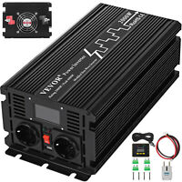 LCD 2000W/4000W 12V Inverter per energia solare a onda sinusoidale modificata